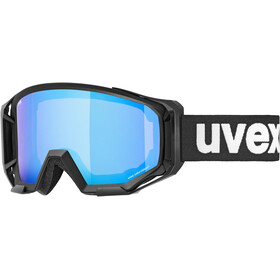 UVEX Athletic Colorvision Goggles, black/mirror blue